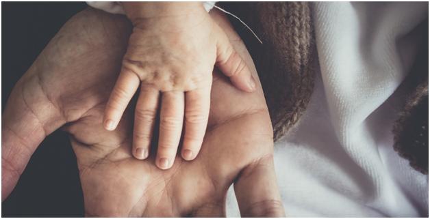 baby Kid hand