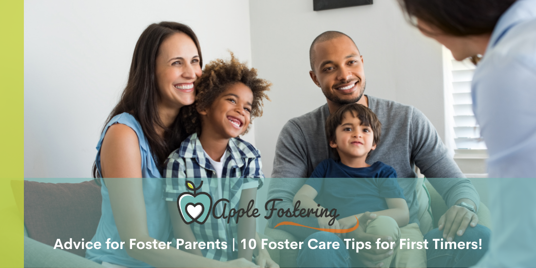 Advice for foster family from social worker