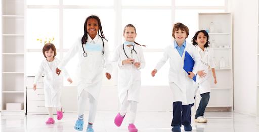 children doctor ambitious careers
