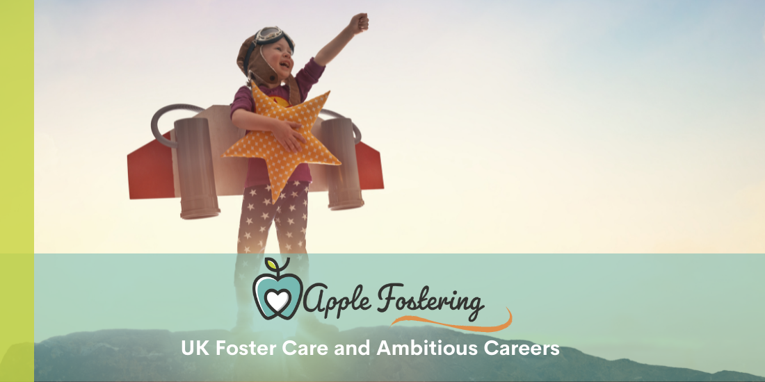 ambitious careers for foster children
