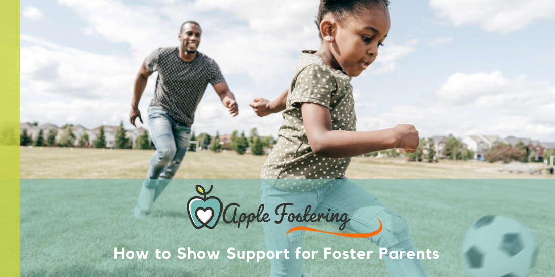 show support for foster parents