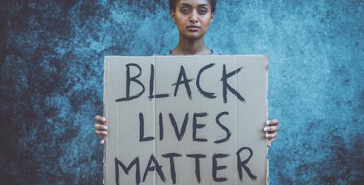 say no to racism black lives matter